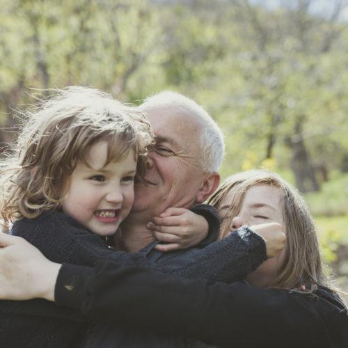 enfants et grands-parents
