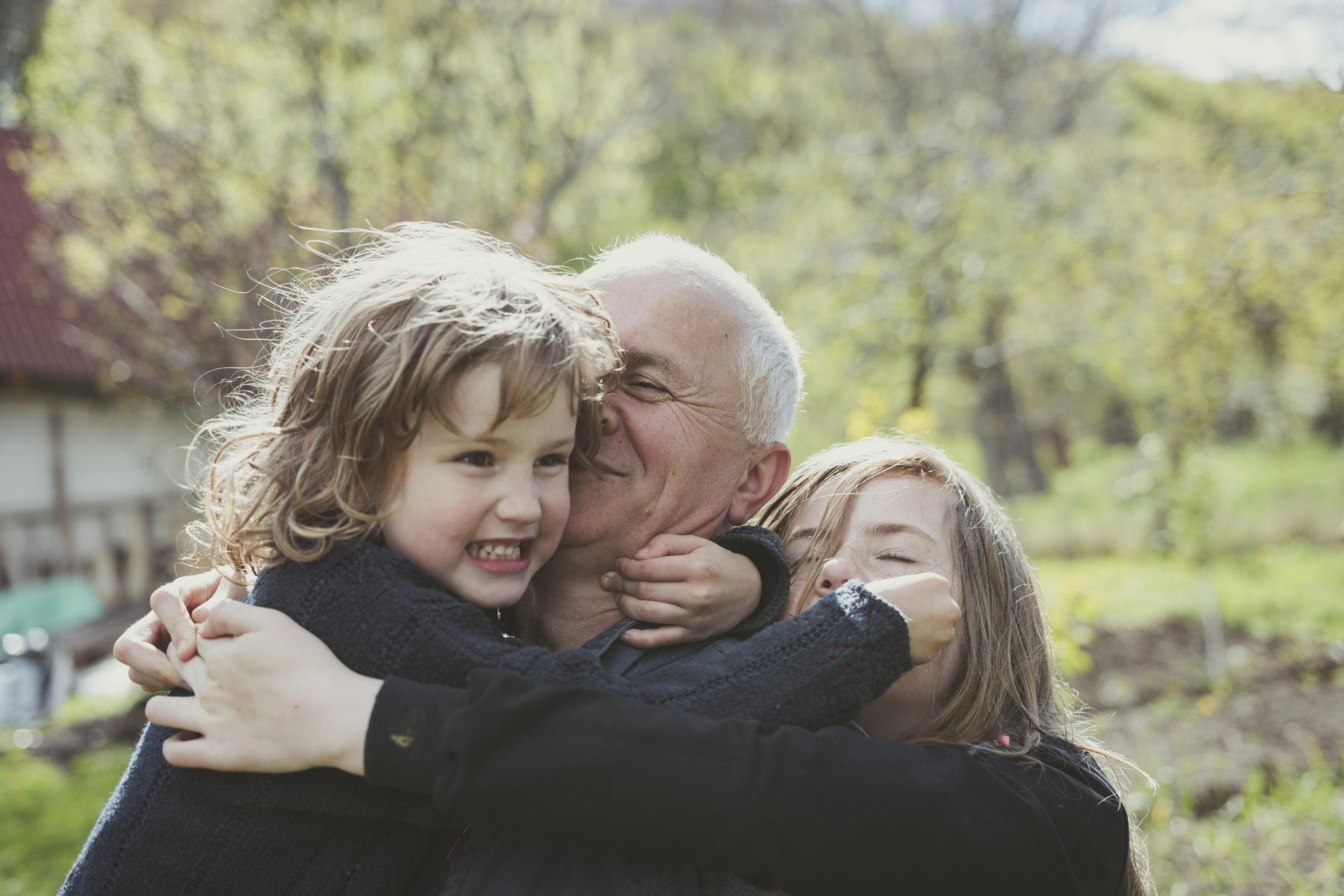 «Les petits-enfants sont les rayons de soleil des grands-parents»